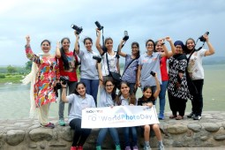 Photography enthusiasts take part in 'photo walk' at Sukhna