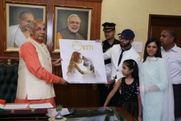 "A song dedicated to girlhood ""BETI"" released by Hon. Governor Kaptan Singh Solanki"