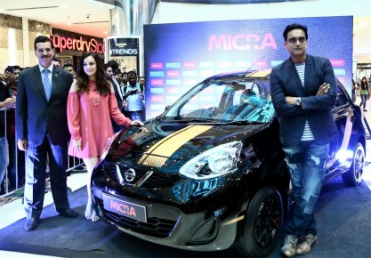 Limited edition car, Nissan Micra Fashion launched