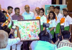 Skill India organizes send-off for India contingent to WorldSkills