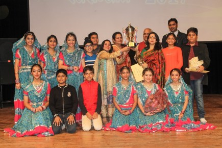 Brilliant performances by children of Satyug Darshan Sangeet Kala Kendra mesmerize audience in Tagore Theatre