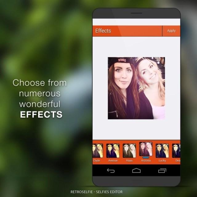 retro selfie selfies editor