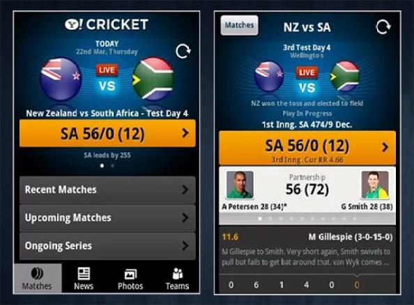 Yahoo-Cricket
