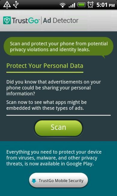 trust go ad detector
