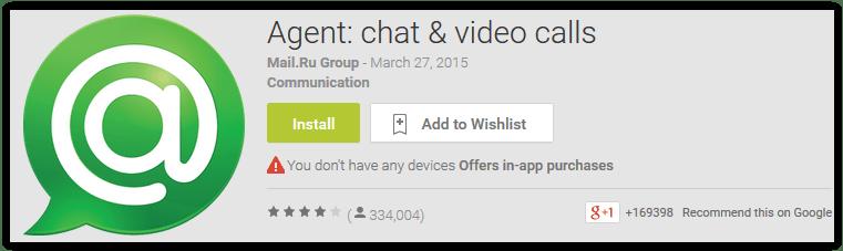 Agent chat & video calls