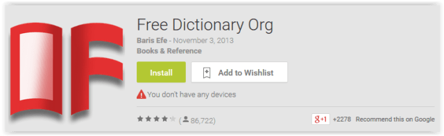Free Dictionary Org