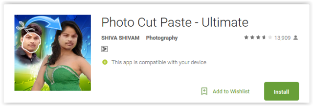 Photo Cut Paste - Ultimate