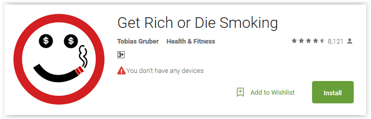 Get Rich or Die Smoking