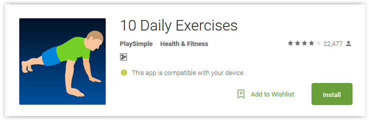 10 Daily Exercises