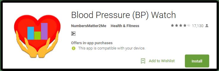 Blood Pressure (BP) Watch