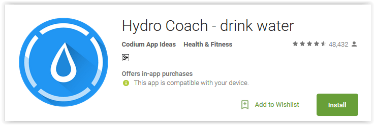 Hydro Coach - drink water