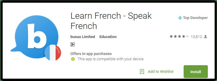 Learn French - Speak French