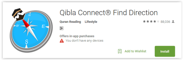 Qibla Connect Find Direction