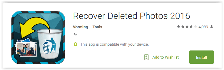 Recover Deleted Photos 2016