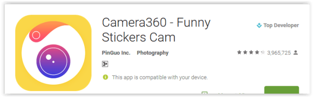 Camera360 - Funny Stickers Cam