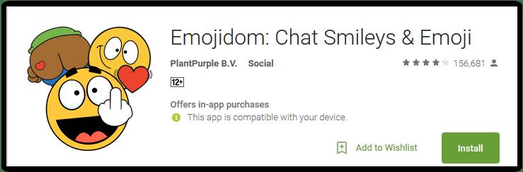 Emojidom Chat Smileys & Emoji
