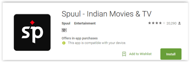 Spuul - Indian Movies & TV