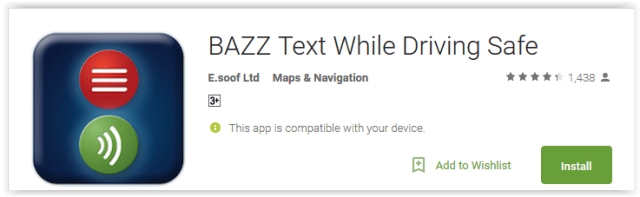 bazz-text-while-driving-safe