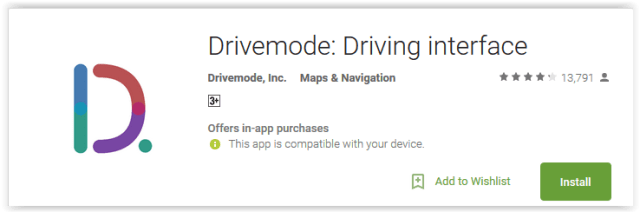 drivemode-driving-interface