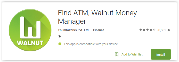 Find ATM, Walnut Money Manager