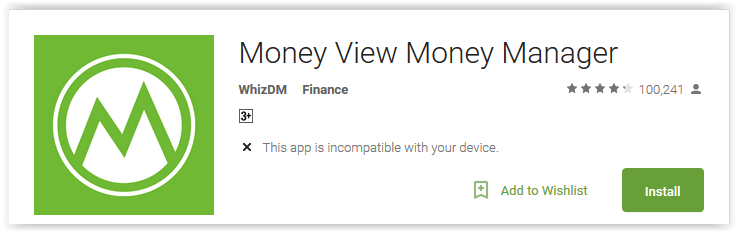 Money View Money Manager