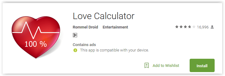 Love Calculator