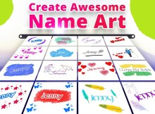Top 10 Stylish Name Maker Apps for Android to Show your Love with Your Name