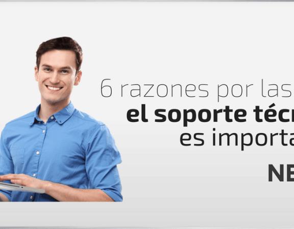 razones por las que el soporte técnico es importante