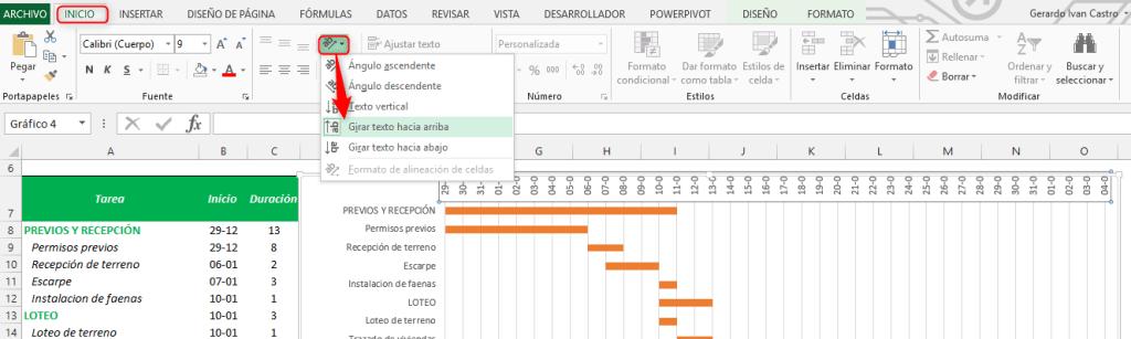 Diagrama de Gantt en Excel【 DESCARGAR PLANTILLA 】