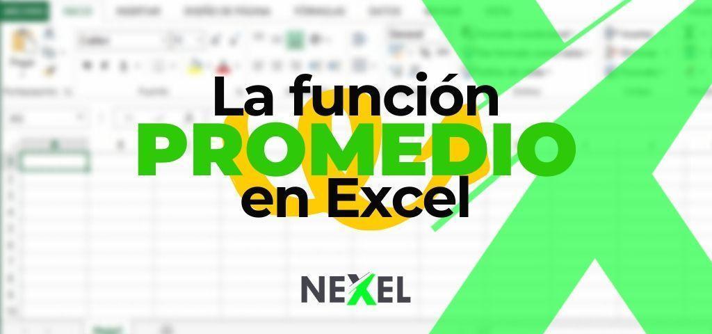 Función PROMEDIO en Excel 【 EJEMPLOS/ SINTAXIS/ ARGUMENTOS 】