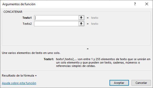Función CONCATENAR en Excel 【 EJEMPLOS/ SINTAXIS/ ARGUMENTOS 】