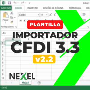 Importador XML a Excel (CFDI 3.3) v2.2
