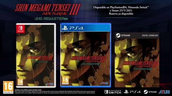 Shin Megami Tensei® III Nocturne HD Remaster