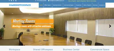 sharedofficespace-website-page