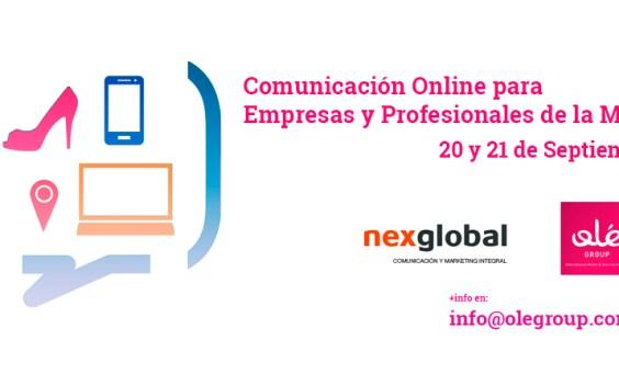 Taller Comunicación Online para empresas y y Profesionales de la moda