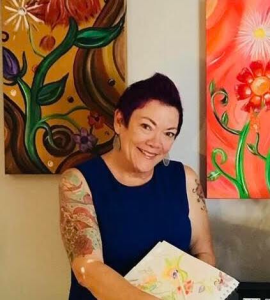 Steph Wray, art, arts, art therapy, art therapist, yoga, hatha yoga, yoga teacher
