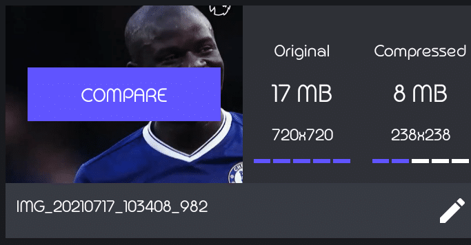 Resize and compress videos