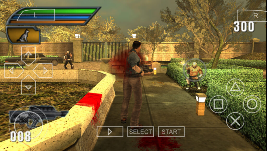 Dead to Rights PPSSPP gameplay cheat mode