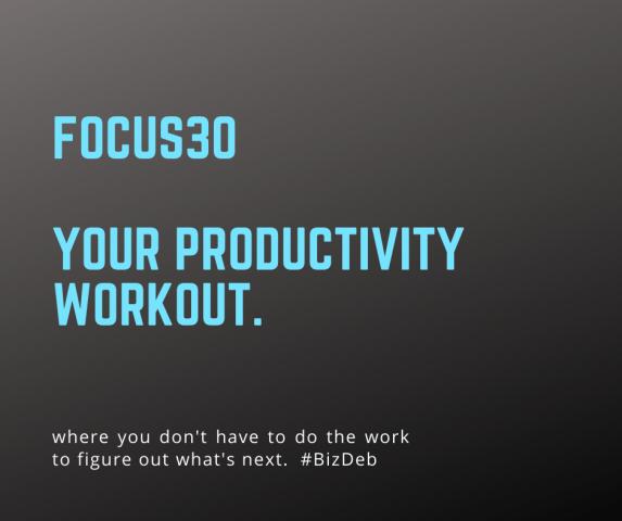 F30 Productivity Workout