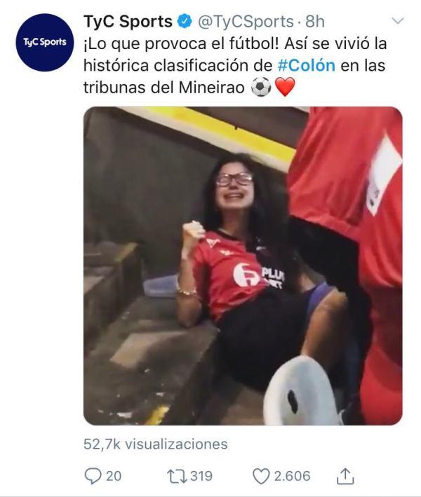 """Lagrimas de alegría"""": el video del festejo sabalero que se hizo viral -  NexoDiario"""