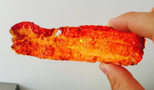 Der Bacon im Zuckerwürzmantel ist so lecker