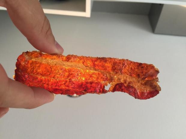 Goldiger Bacon mit Zucker Rub Glasur