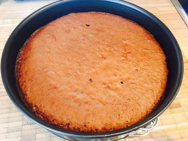 Kuchen Teig fertig gebacken