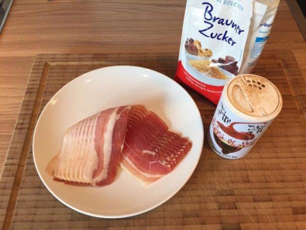 Fire Pit BBQ macht Bacon noch leckerer