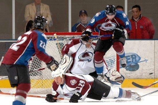Hockey on-ice
