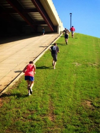 hill sprints