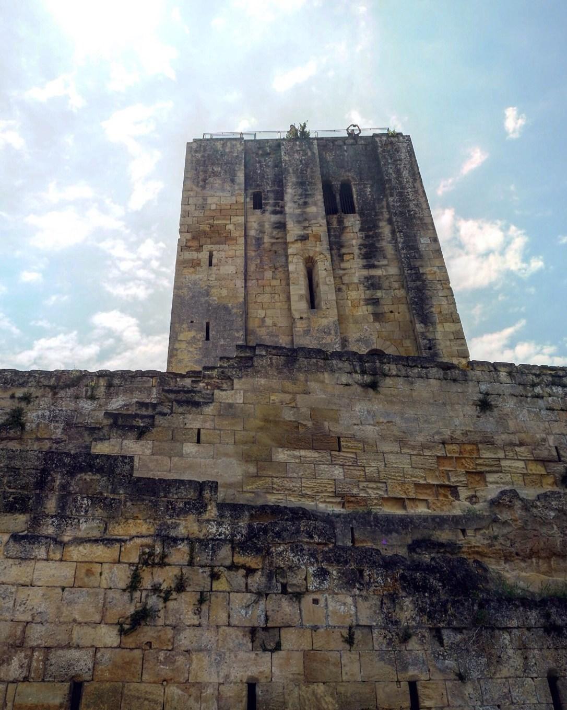 The tower in Saint-Émilion- the Chateau du Roy