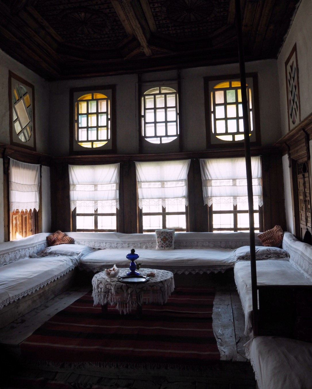 The beautiful Zekate House in Gjirokastër, Albania