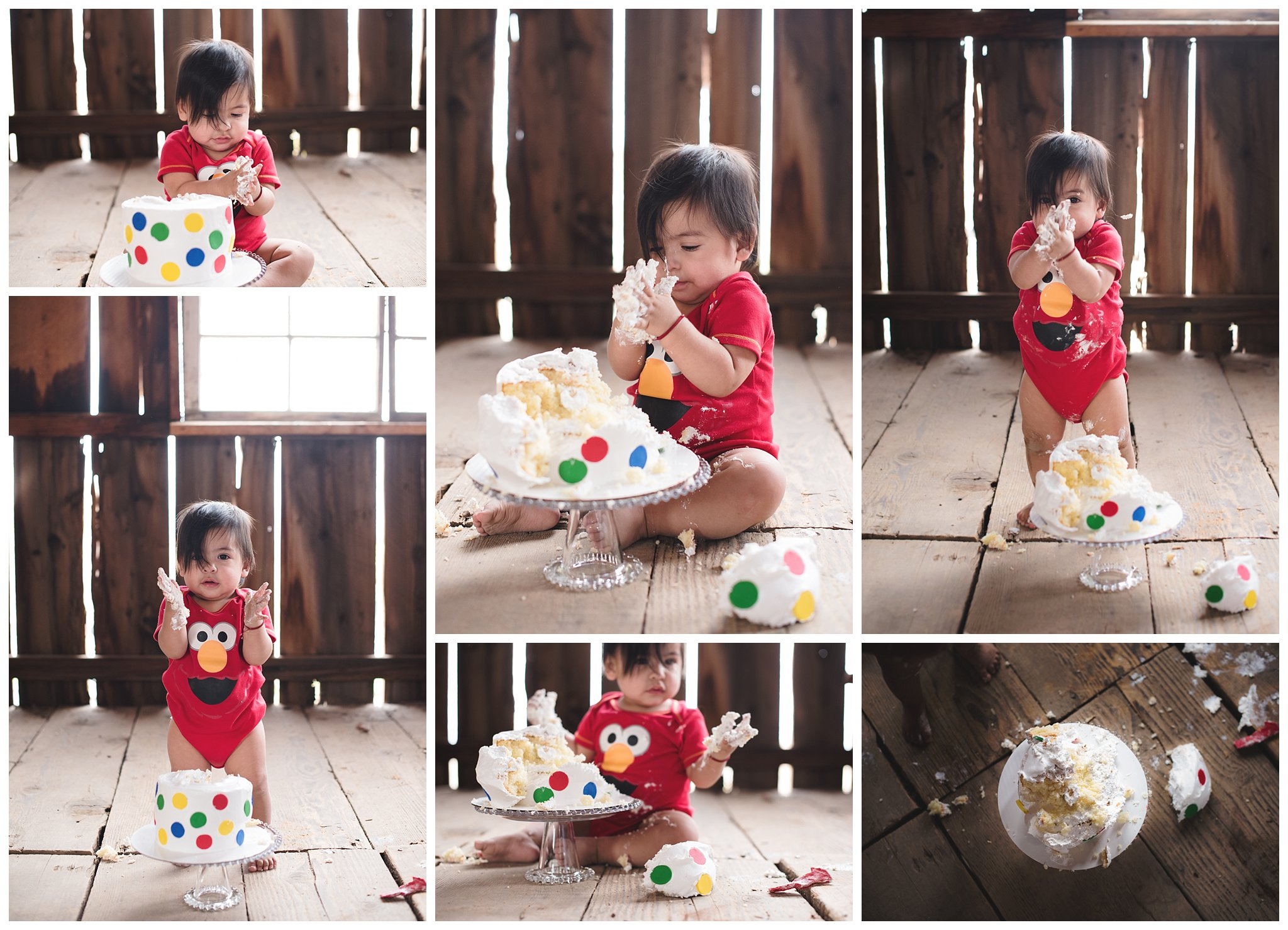 one-year-old-baby-eating-cake-in-old-barn