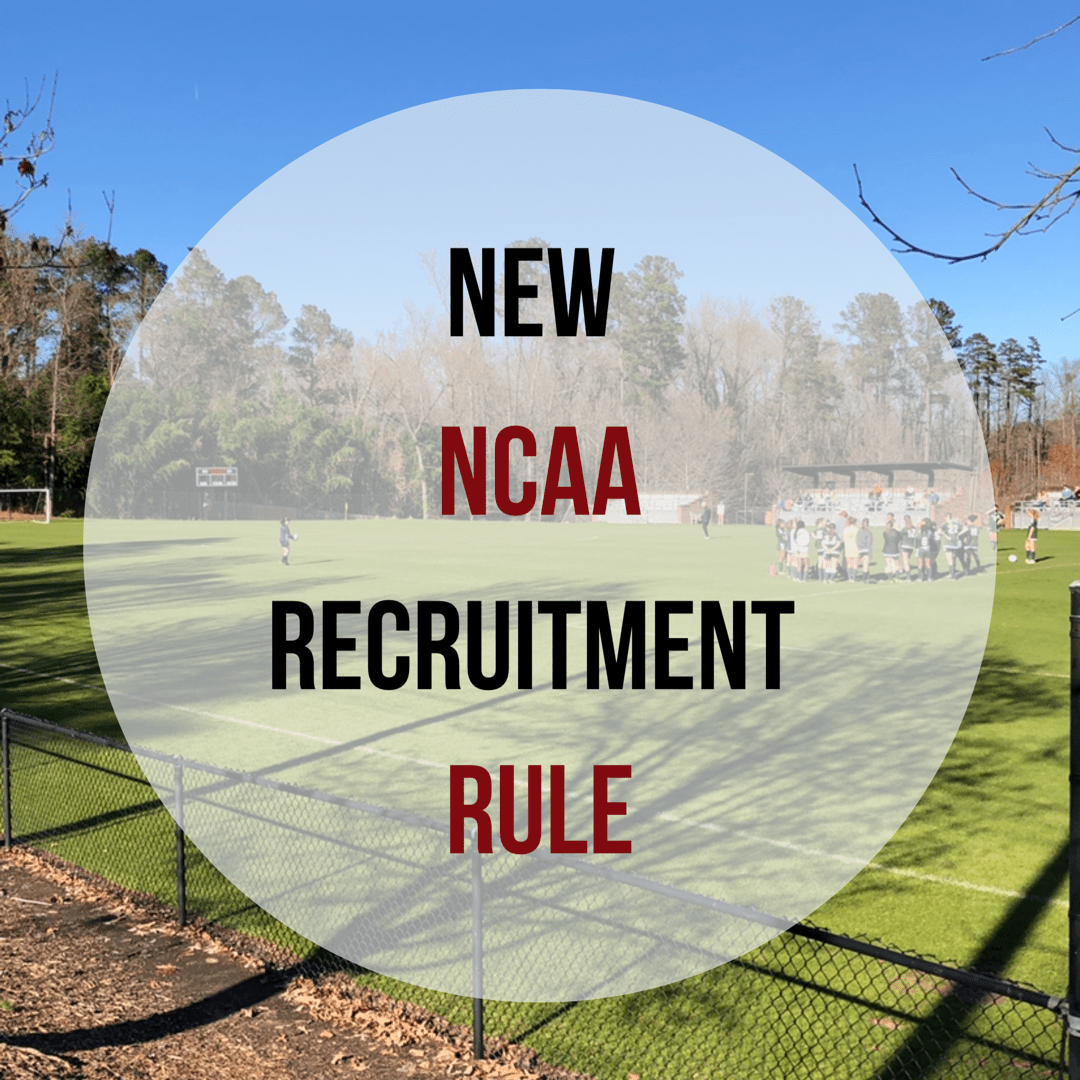New NCAA D1 Recruiting Rules